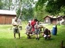 Setkání skupin honičů